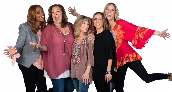 Lisa Harper, Christine Caine, Laurie Crouch, Holly Wagner & Ms. Freeman