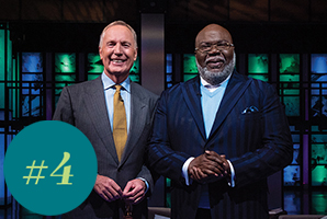 Max Lucado hosts T.D. Jakes as they talk about overcoming the pressures of the world's expectations.