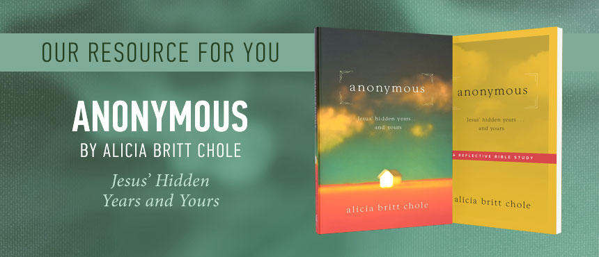 Anonymous by Alicia Britt Chole