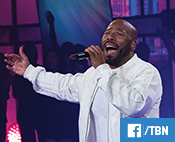 A TBN viewer posted during the Praise Facebook Watch event with Anthony Evans: