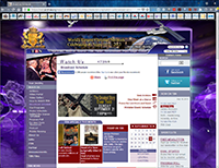TBN's first website. Click to enlarge.