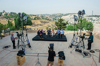 In 2014, TBN began construction of the Israel Studio, and has since been creating content in Jerusalem that highlights the fulfillment of Biblical promise and prophecy in the Holy Land.