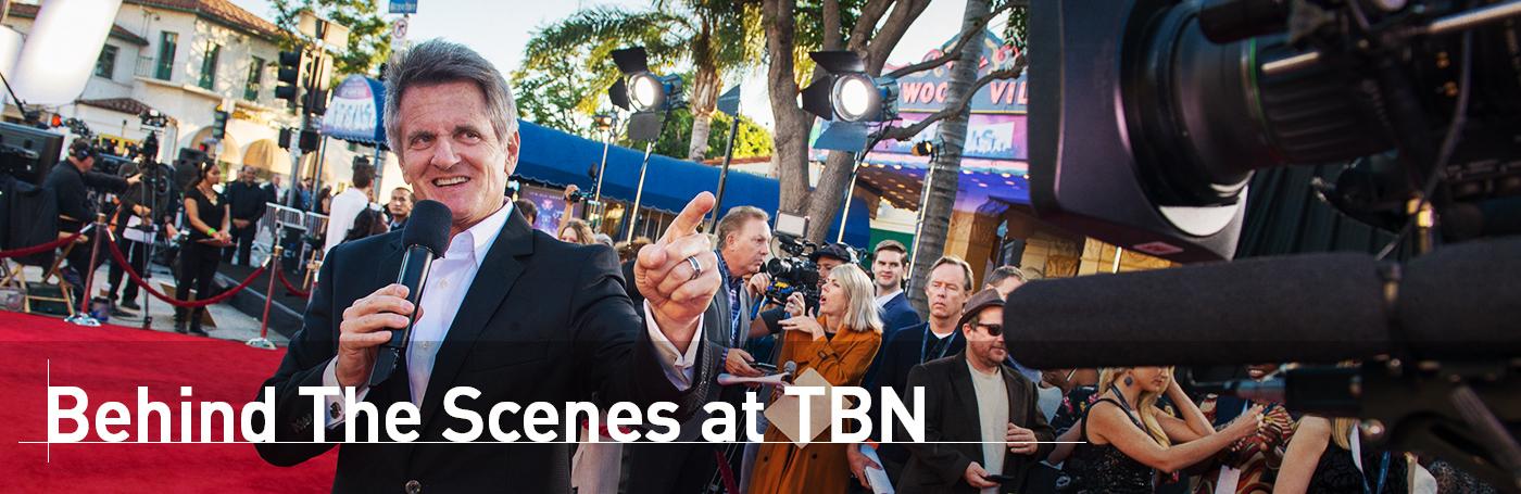Matt Crouch Behind Scenes on TBN