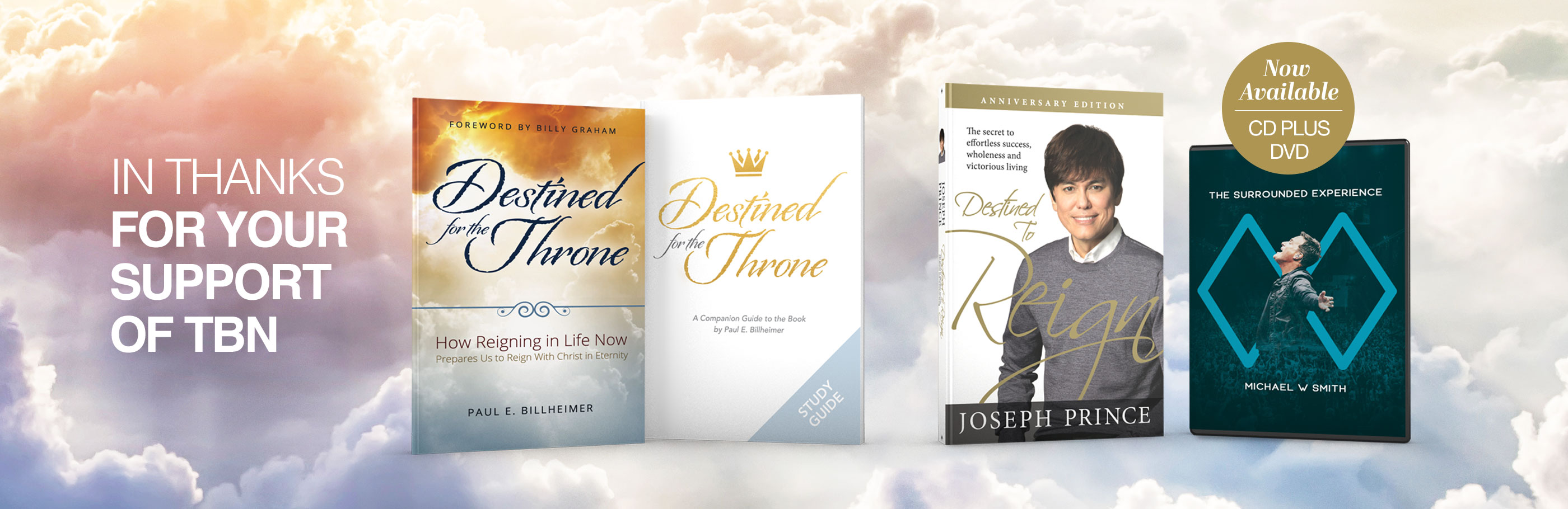 TBN July Gift Offer Destined for the Throne