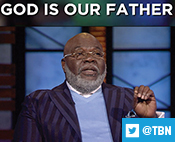 """On Praise, T.D. Jakes shared about recognizing God as a loving Father: """"Relationship with Him nurtured me more than religion."""""""